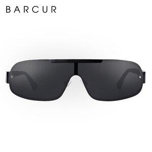 Image 5 - BARCUR Aluminum Magnesium Sunglasses Men Polarized Sun glasses for Men Pilot Sport Eyewear UV400