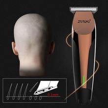 100-240 в профессиональный триммер для волос, электрическая машинка для стрижки волос для мужчин, триммер для бороды, машинка для стрижки волос, Парикмахерская, Беспроводная Машинка для стрижки волос 0 мм