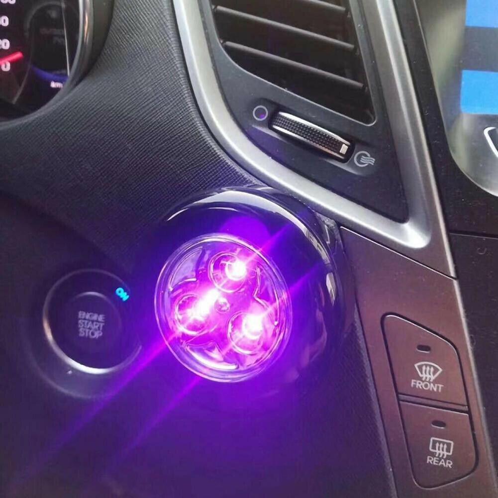 Portable Car Mini UV LED Sterilization Light UV Germicidal Lamp Household Ultraviolet Disinfection Lamp Ultraviolet Sterilizer