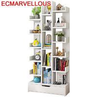 Madera Decoracao Bureau Meuble Bois Mueble Wall Shelf Estanteria Para Libro Book Rack Decoration Furniture Bookshelf Case