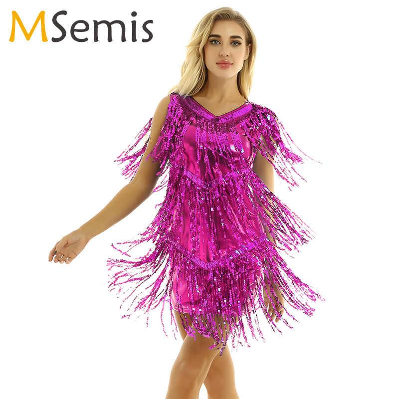 Jupe Danse Robe Samba Femmes Latin Femme Salsa Cha Haute Rumba De Tango