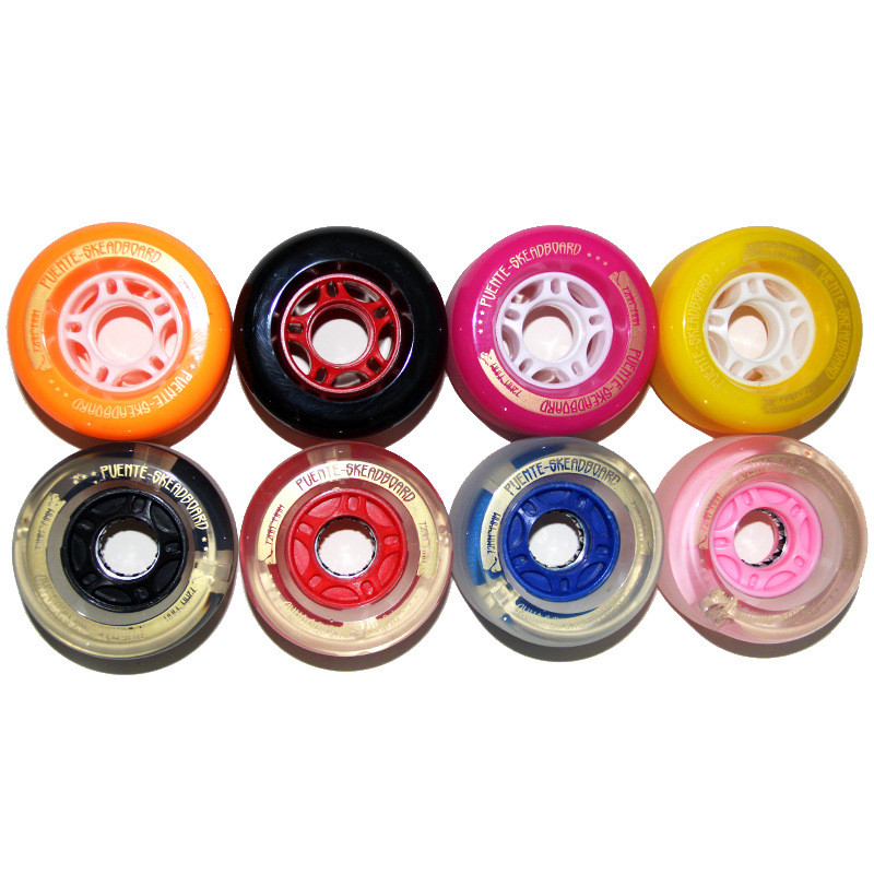 Skate Board 1pc PU Skateboard Wheel 72*44mm Long Board Wheel Skateboarding Accessories Flash Wheel Long Board Dropshipping