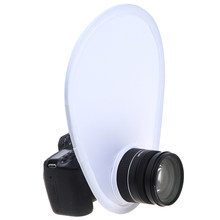 Fotografie Flash Lens Diffuser Reflector Flash Diffuser Softbox Voor Canon Nikon Sony Olympus Dslr Camera Lenzen(China)