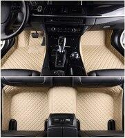 Auto car floor Foot mat For peugeot 308 206 508 5008 301 2008 307 207 3008 2012 waterproof car accessories for left hand drive