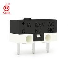 Kailh mikro przełącznik 1,000,000 cykli mechaniczne życie i 1A 125V AC ocena, 3.30mm długość