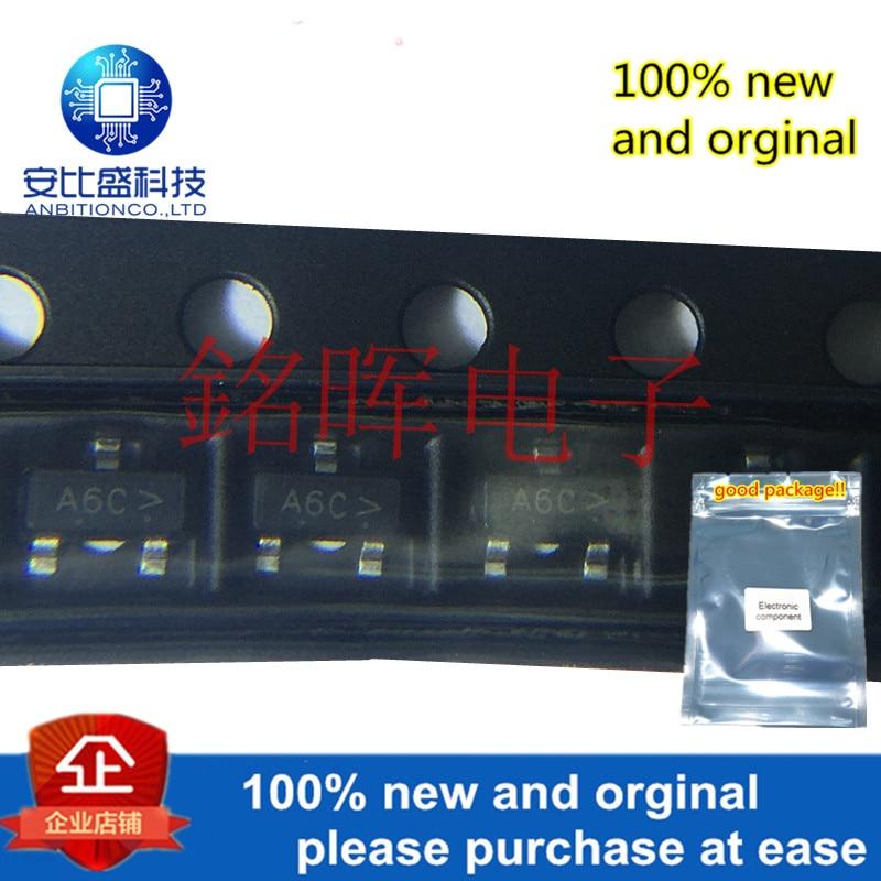 10pcs 100% New And Orginal MMUN2113LT1G Silk-sceen A6C SOT-23 In Stock