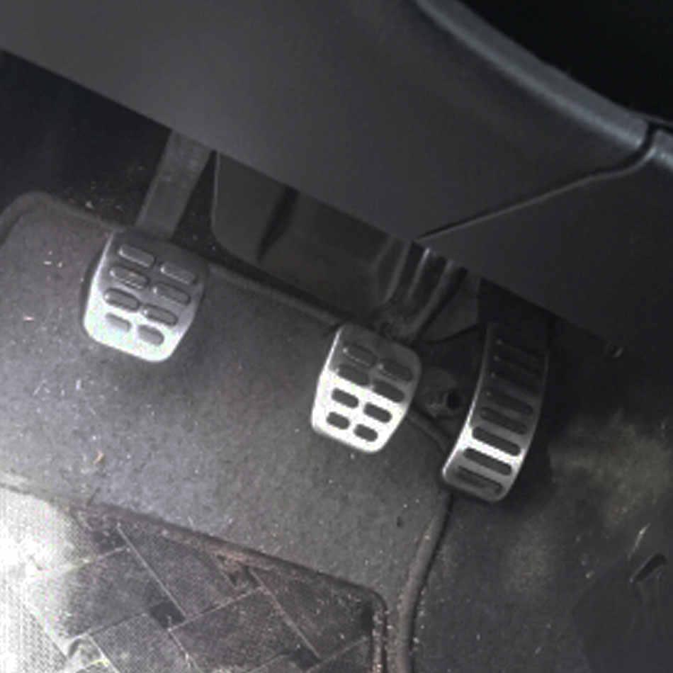 Pedały gazu hamulca samochodowego ze stali nierdzewnej dla Audi TT A1 A2 A3 pedały dla VW Golf 3 4 Polo GTI 9N3 dla SKODA SEAT Octavia Ibiza Fabia