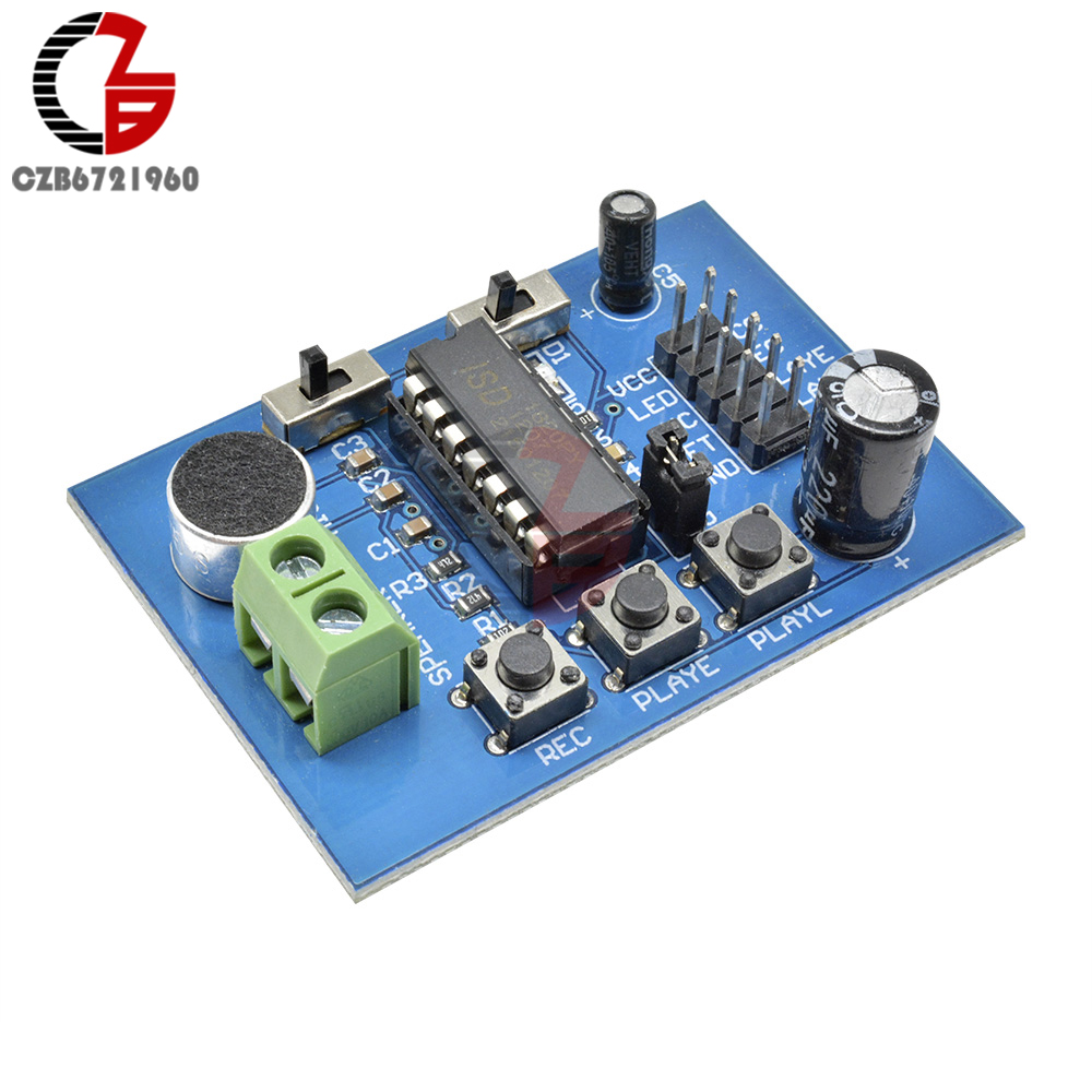ISD1820 Sound Voice Board Recording And Playback Module