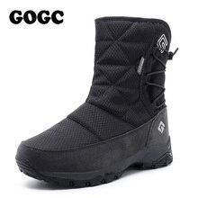 GOGC حذاء من الجلد الأبيض النساء أحذية الثلوج امرأة 2019 الشتاء أحذية للنساء أحذية الشتاء الأحذية النسائية الشتاء مقاوم للماء 9905
