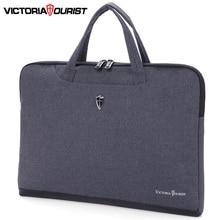 "Victoriatourist מחשב נייד תיק 14 ""15.6"" גברים נשים עסקי תיק אופנתי תיק קל משקל נייד שליח שקית"
