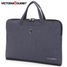"""Victoriatourist Laptop çantası 14 """"15.6"""" erkek kadın iş çanta şık evrak çantası hafif taşınabilir askılı çanta"""