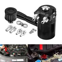 Oil Can Air Filter Ventilator Oil Pot Oil Catch Reservoir Breather Can Tank Car Accessories
