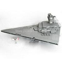متوفر 05027 حرب النجوم الإمبراطور المقاتلين ستار السفينة موبايل بنة 3250 قطعة الطوب 10030 الأطفال هدية