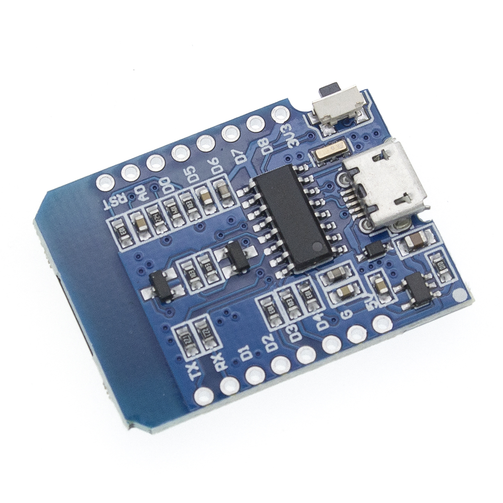 Image 3 - 50pcs D1 mini   Mini 4M bytes Lua WIFI Internet of Things development board based ESP8266 by WeMos-in Integrated Circuits from Electronic Components & Supplies