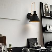 Indoor Wall Lamp Bar Modern Wall Lights Bedroom Black Wall Light Kitchen Metal Wall Lighting Free Shopping