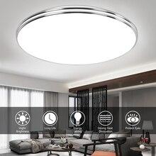 Panel-Light Ceiling-Lamp Surface-Mount LED Bedroom Kitchen Modern Ultra-Thin 220V 24W