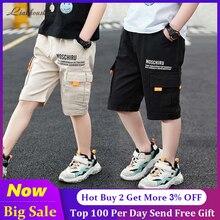 Shorts Teens Sport-Pants Boys Summer Kids Cotton Children Casual for Pocket
