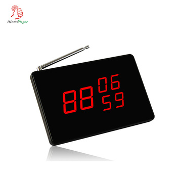 Wireless Calling System Display,Paging Screen Receiver, for Restaurant Bank Factory Supermarket Hotel Hospital