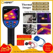 XEAST 2020 nowy wydany kolorowy ekran ręczna kamera termowizyjna kamera termowizyjna na podczerwień