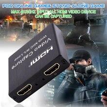 Совместимому с hdmi 1080p @ 30fps видео захвата диск usb Регистраторы