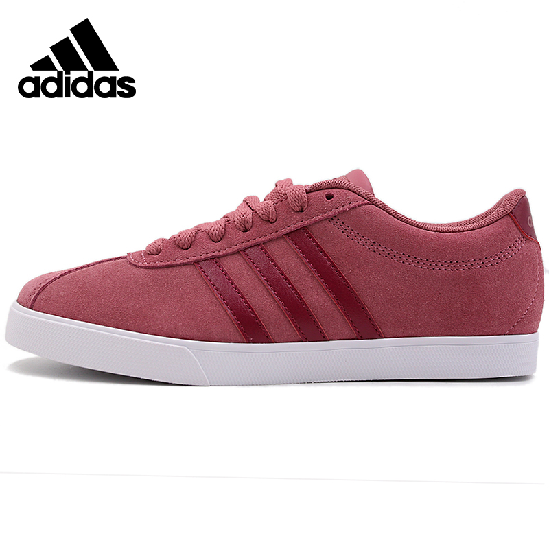 Original Adidas COURTSET Womens Skateboarding Shoes Sneakers Outdoors Sports B44618 title=