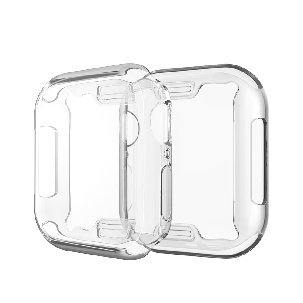 Watch Cover Case for Apple Watch 6/5/4 40MM 44MM Soft 360 Slim Clear TPU Screen Protector for apple watch series 3/2/1 38MM 42MM