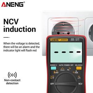Image 3 - ANENG AN8009 Digital Multimeter Transistor Tester Kondensator True RMS Tester Automotive Elektrische Kapazität Meter Temp Diode