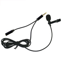 Bow Tie 3.5mm Jack Mini Microphone Wired Clamp Lapel Hand Free Headphone Microphone Microphone Universal(China)