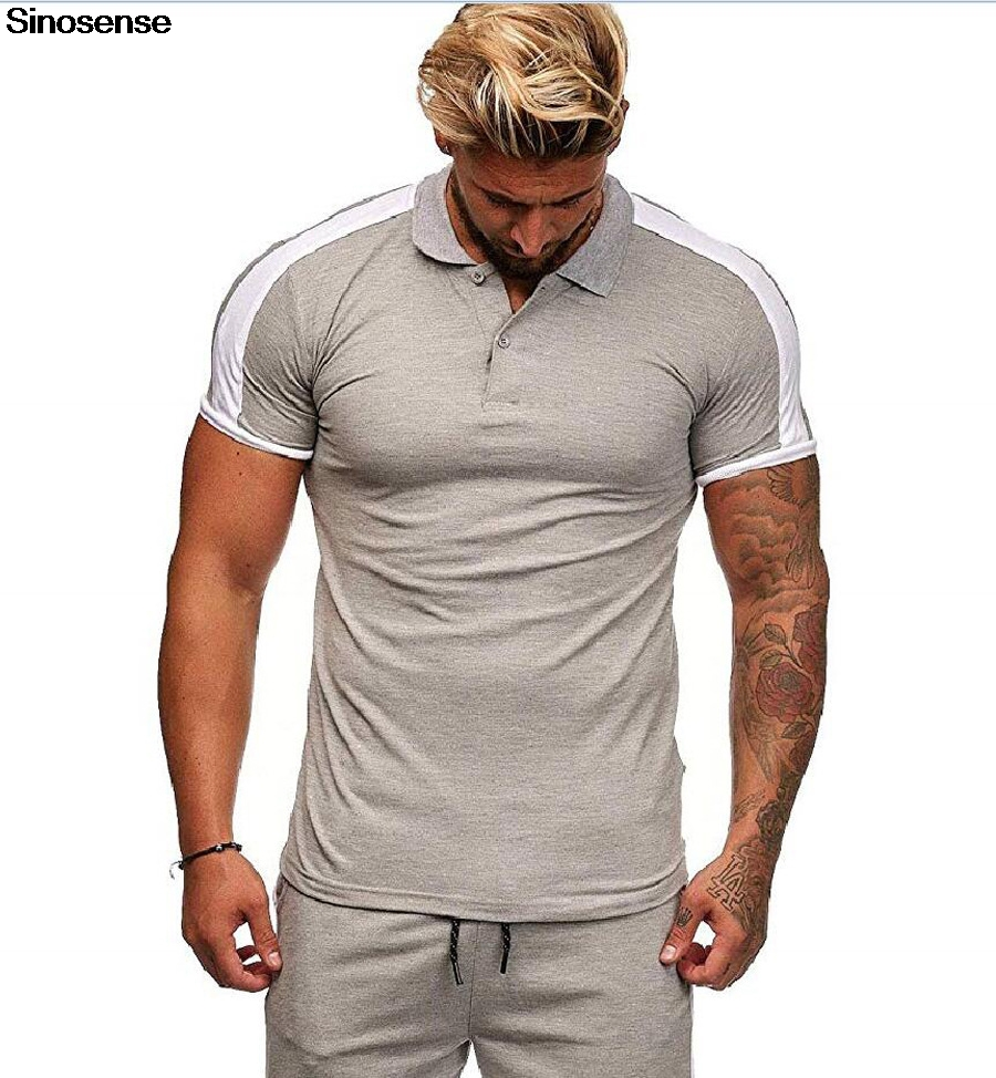 Mens Classic Fit Short Sleeve Casual Solid Cotton Pique Polo Shirt