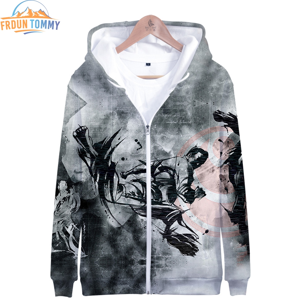 2019 New Style Kyokushin 3D Print Clothes Long Sleeve Zipper Hoodies Casual Women And Men Casual Clothes 2019 New Zipper Hoodies