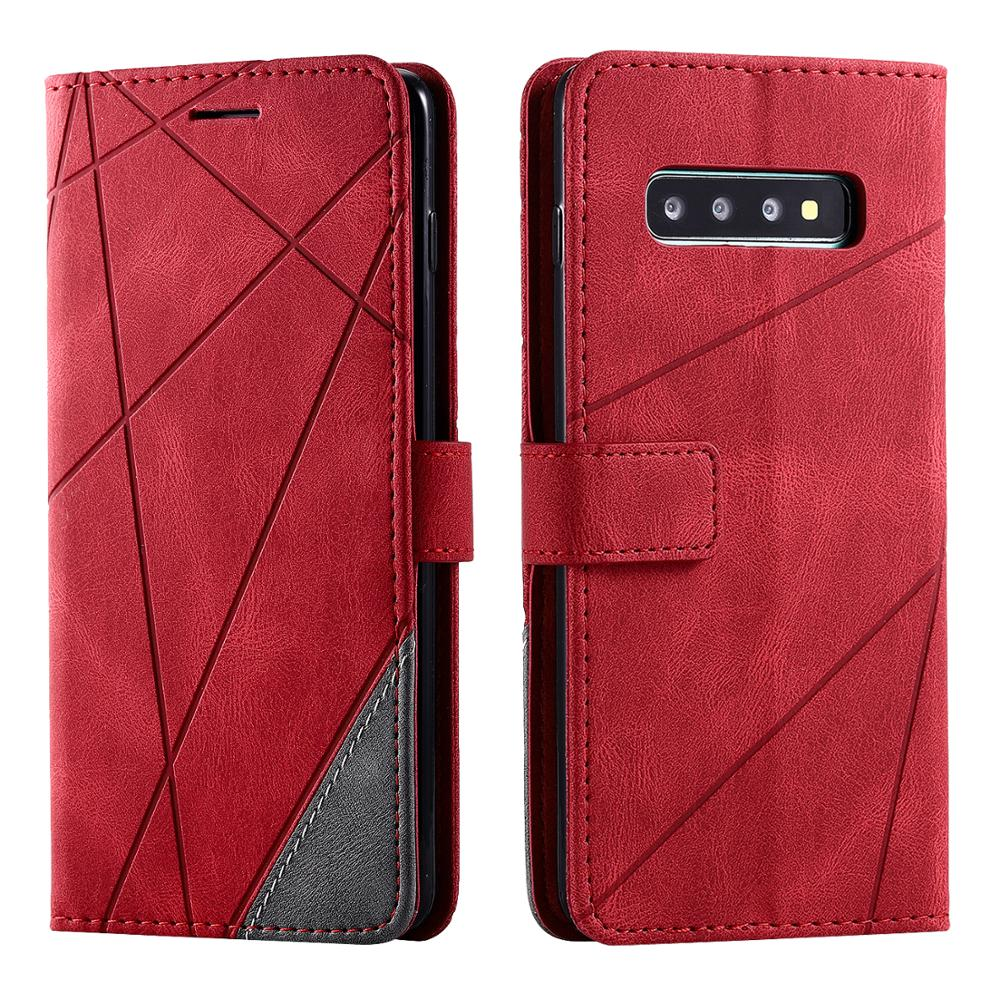 For Samsung Galaxy S20 S10 S9 S8 Plus S7 Edge S10E S20 Ultra Lite Flip Wallet Case Luxury Leather Magnetic Card Slot Cover Coque