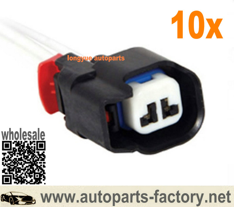 Longyue 10pcs Repair Connector Harness ABS Sensor Fuel Injector  For Jeep Chrysler Grand Cherokee Dodge 5183448