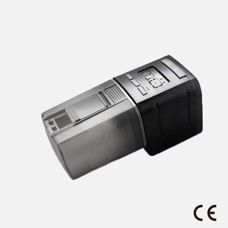Ce-certificering Vis Tank Feed Servies Volautomatische Smart Timing Fish Feeder Mini Feeder Aquarium Feeder