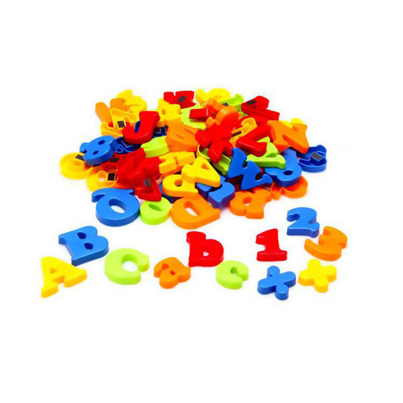 78PCS Magnetic Letters Alphabet /& Numbers Fridge Magnets Toys Kids Learning Magn