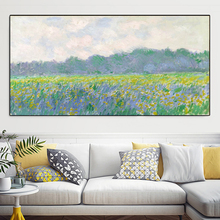 Modern Impression Claude Monet Water Lily Pond Landscape Oil Paintings Reproduction Prints Unframed Canvas Painting Wall Decor