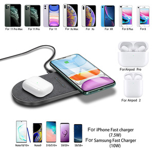 Image 4 - FDGAO 2 in 1 30W Wireless Charger for iPhone 12 Pro Max Mini 11 XS XR X 8 Airpods Qi Dual Fast Charging Pad For Samsung S21 S20