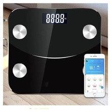 Bluetooth для тела Жир называется дома здоровье человека интеллектуальные электронные весы батарея новое Смарт приложение для тела Жир весы