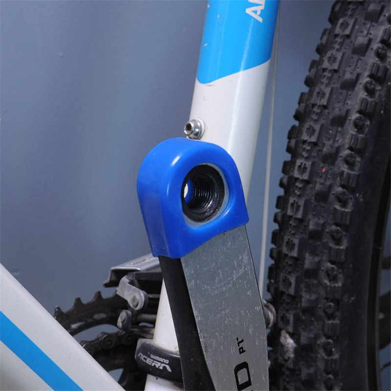2 قطعة دراجة دراجة هوائية جبلية ألياف الكربون الثابتة والعتاد دواسة كرنك حالة عالية الجودة الدراجات حامي غطاء كاب
