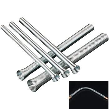 5 sztuk instrukcja wiosna giętarka do rur rura miedziana maszyna do formowania pcv elektryczny drut gięcie narzędzia ręczne 5 8 #8222 2 1 #8221 8 3 #8222 16 5 #8243 4 1 #8221 tanie i dobre opinie Prętów stalowych Other STAINLESS STEEL Rury i rury giętarka Z1807-GB30-783 copper pipe bender Bending Machinery hand tools