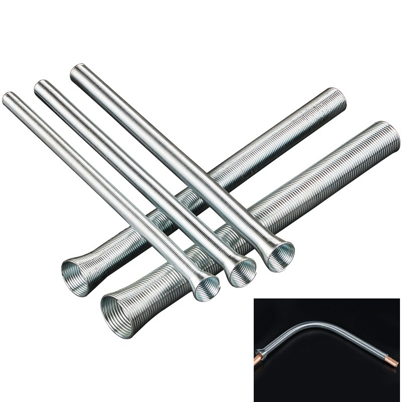 5pcs Manual Spring Pipe Bender Copper Tube Forming Machine PVC Electrical Wire Bending Hand Tool 5/8