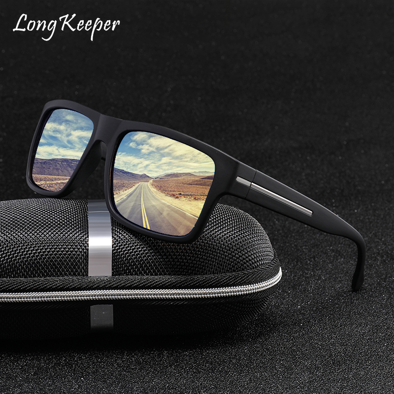 Longkeeper Luxury high quality Polarized Mens Sung