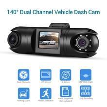 New Car Dash Cam HD WiFi Camera Dual Channel Car DVR Camera 1.5 LCD TFT 140° Car Mini DVRs Motion Detection Dash WiFi Camera xbox hd 1 channel mini dvr board 1ch car dvr motion detection car dvr