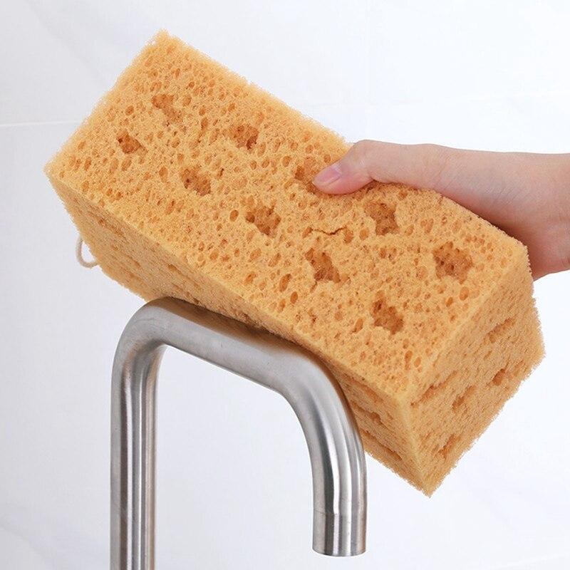 Zawieszenie czyszczenie Big Size gąbka o strukturze plastra miodu porowata koralowa myjnia samochodowa blok z gąbki do czyszczenia akcesoriów pojazd domowy