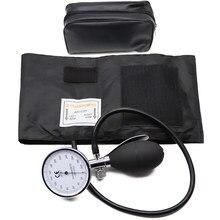 Klasik kan basıncı monitörü BP yetişkin manşet tonometre kol Aneroid tansiyon aleti manuel basınç göstergesi