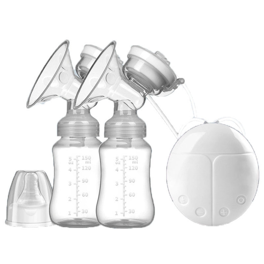 Baby Bottles Electric Intelligent Automatic Breast Pump Double Breast Pump Maternal And Infant Breastfeeding Accessories