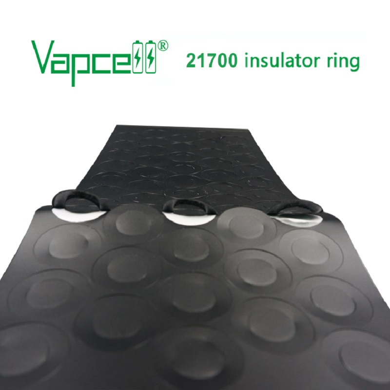 5pcs Vapcell 21700 insulator ring black and white size for 21700 Adhesive Cardboard Paper 15pcs 100pcs free shipping|Battery Storage Boxes|   - AliExpress