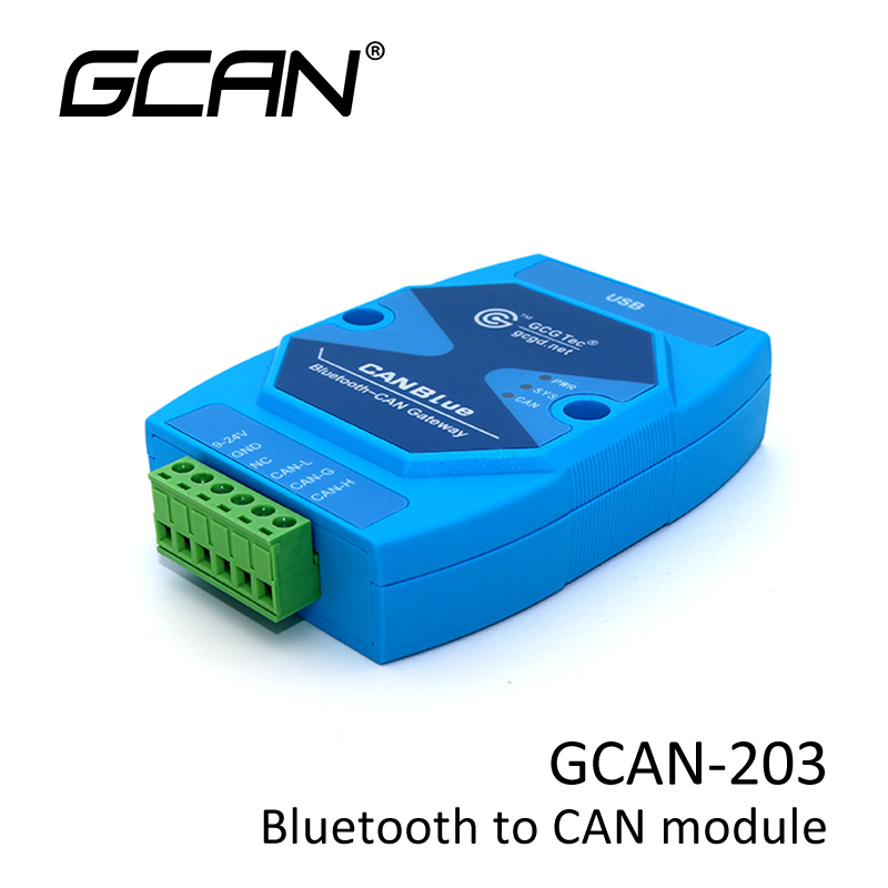 CAN Bus Bluetooth Gateway Suitable For CAN Bus Communication With Small Amount Of Data.