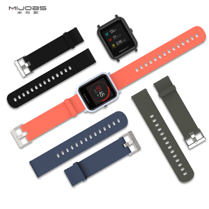 Image 5 - Wrist Strap For Amazfit Bip GTS Bracelet 20mm Watch Band Wristband for Xiaomi Huami Amazfit Bip Protect Case For Amazfit Bip S