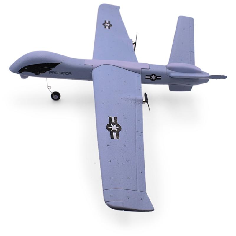 Avion RC, avion RC 2.4G 2ch, télécommande, avion RC, aile, mousse, lancement manuel, avions jouets 3