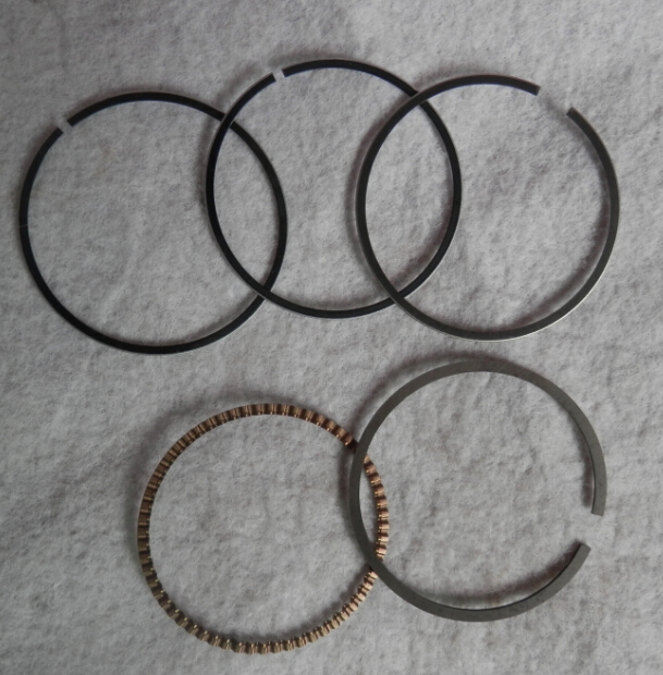 PISTON RING 44MM /42mm CHINESE 142F144F 4 STROKE CYLINDER  BOAT STYLE SPRINKLER OIL COMPRESSION RINGS SET FREE SHIPPING